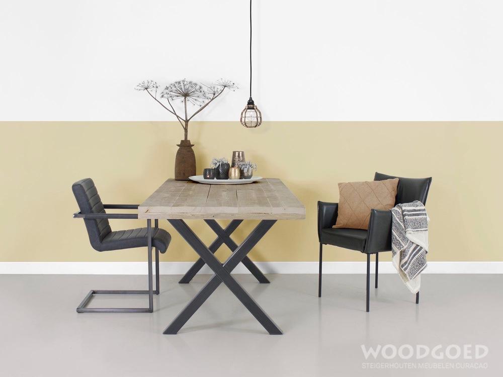Tafel X Poot : Tafels meubeloutlet loenen