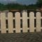 steigerhouten tuinhekkken curacao