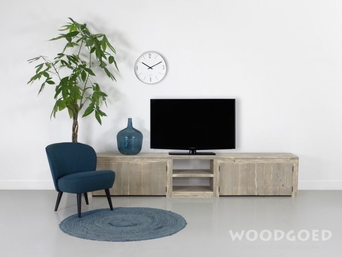 steigerhouten tv meubel piscadera tv kasten van steigerhout. Black Bedroom Furniture Sets. Home Design Ideas
