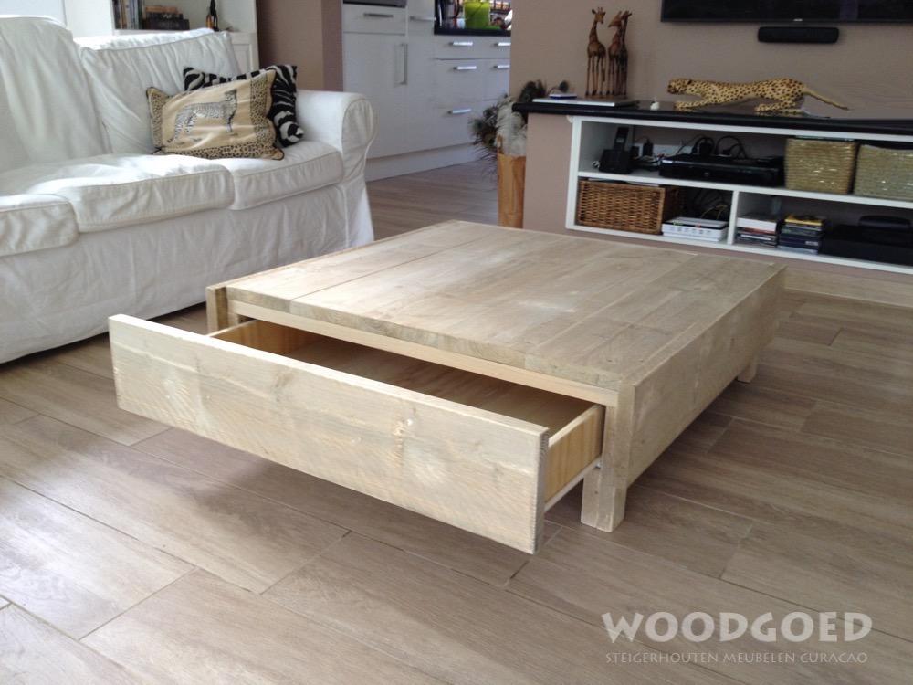 Steigerhouten salontafel joris for Loungeset steigerhout zelf maken