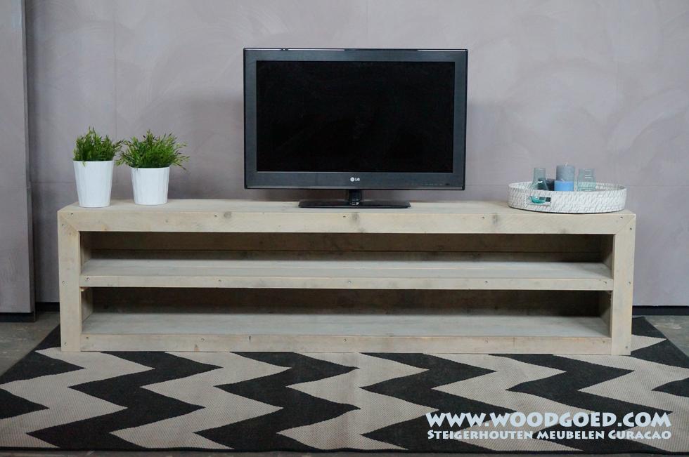 steigerhouten tv meubel barber tv kasten van steigerhout