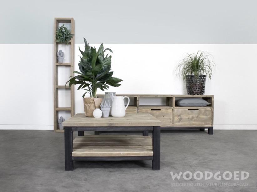 Wit houten tv meubel tv meubels van fØrn