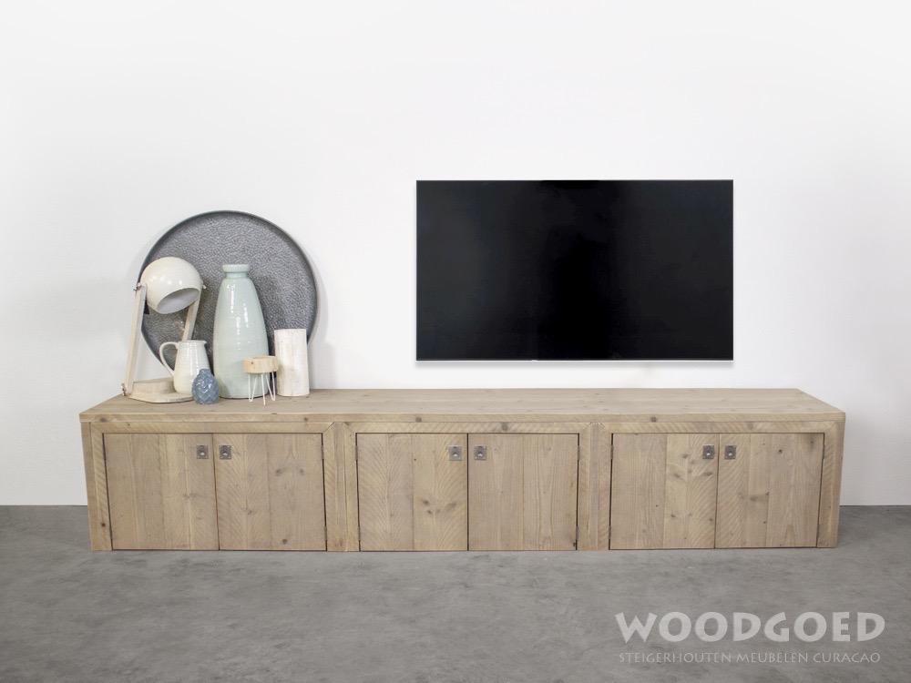 Tv Kast Steigerhout : Steigerhout steigerhouten meubels op maat tweedehands